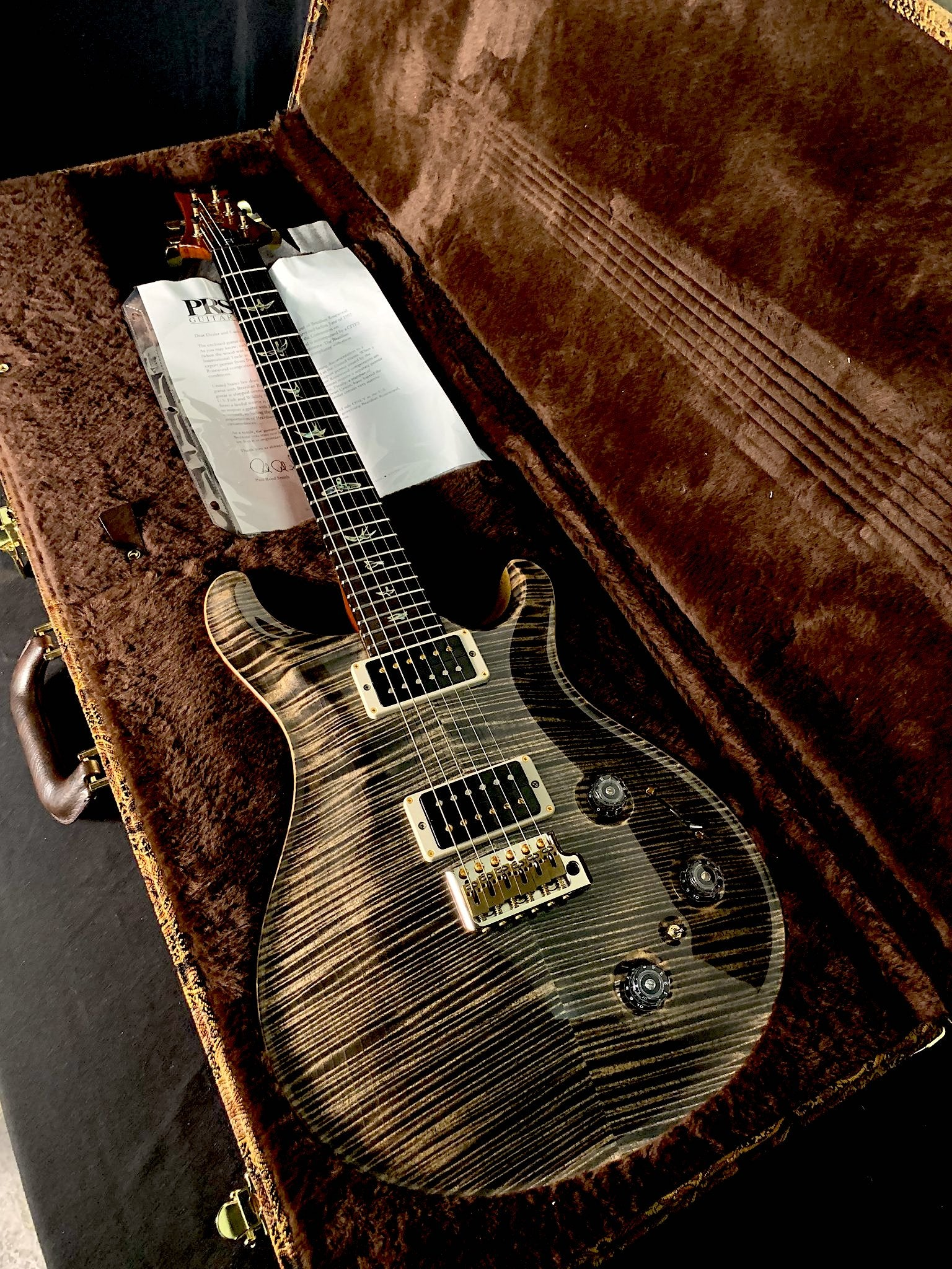 "2013 PRS P22 "" Wood Library"""
