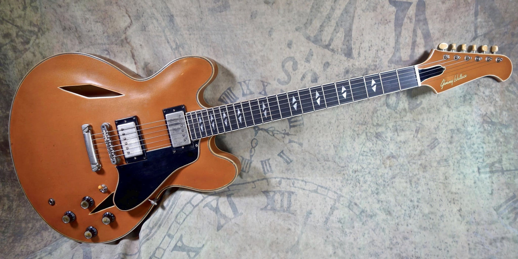 **** SOLD **** Jimmy Wallace DG in Aged Copper Metallic Finish