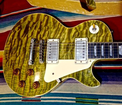 Jimmy Wallace LP Green Tiger Quilt