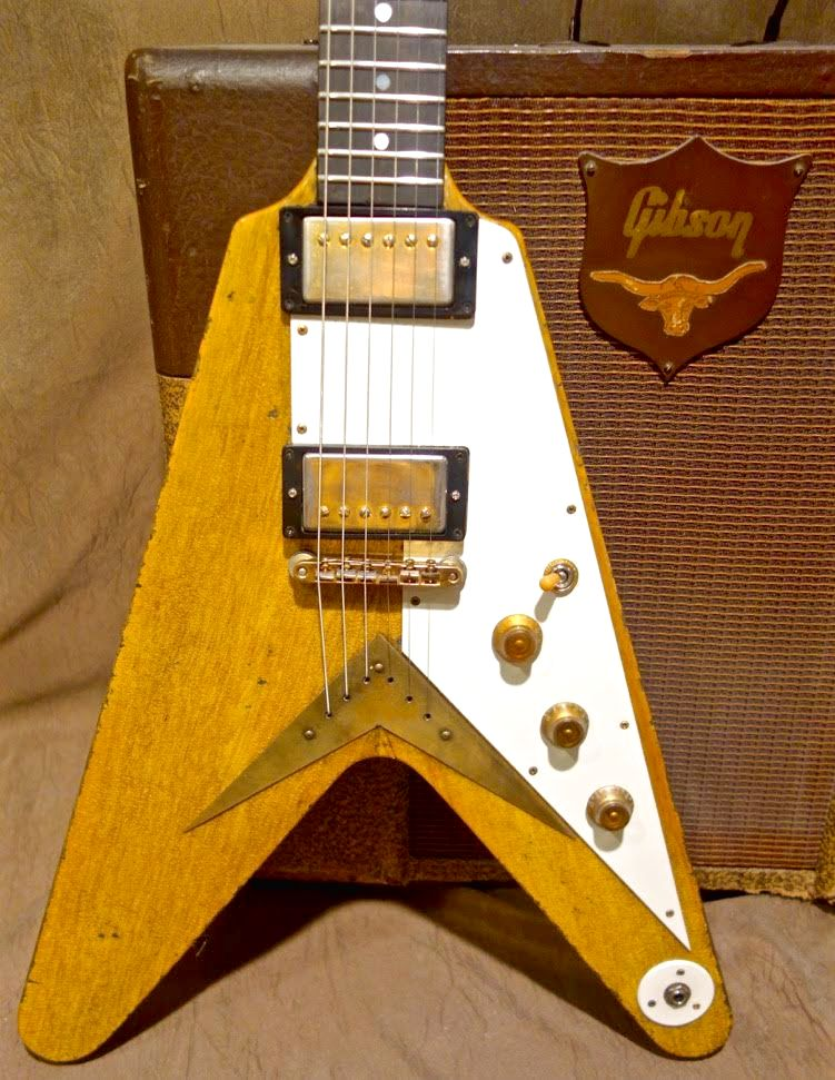 Jimmy Wallace Korina Flying V ****SOLD****