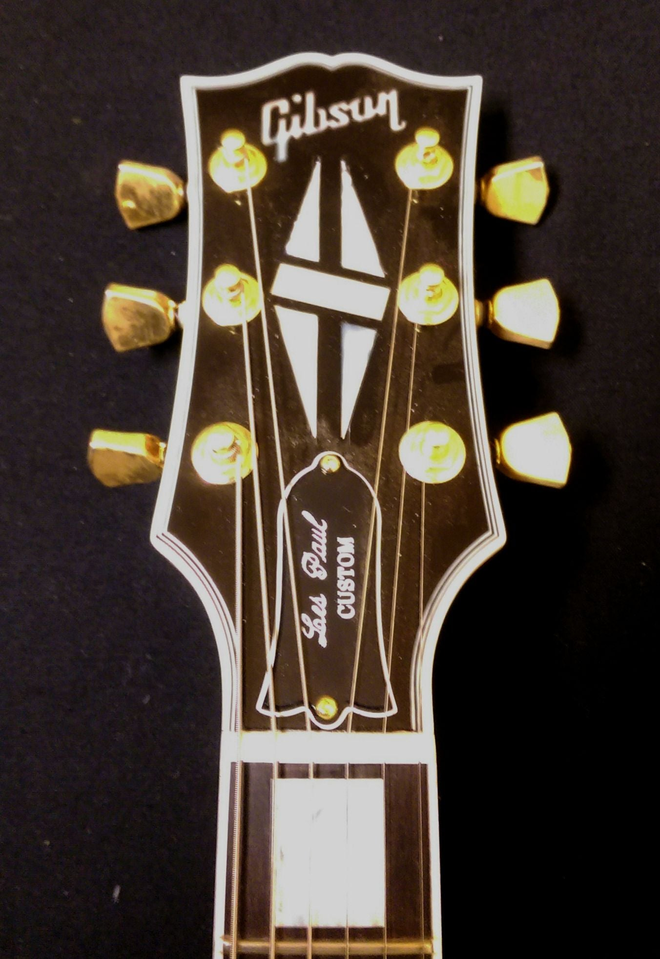 Gibson Les Paul Custm 3 Pickup Jimmy Wallace Guitars Classic 3pickup Electric Guitar With Case