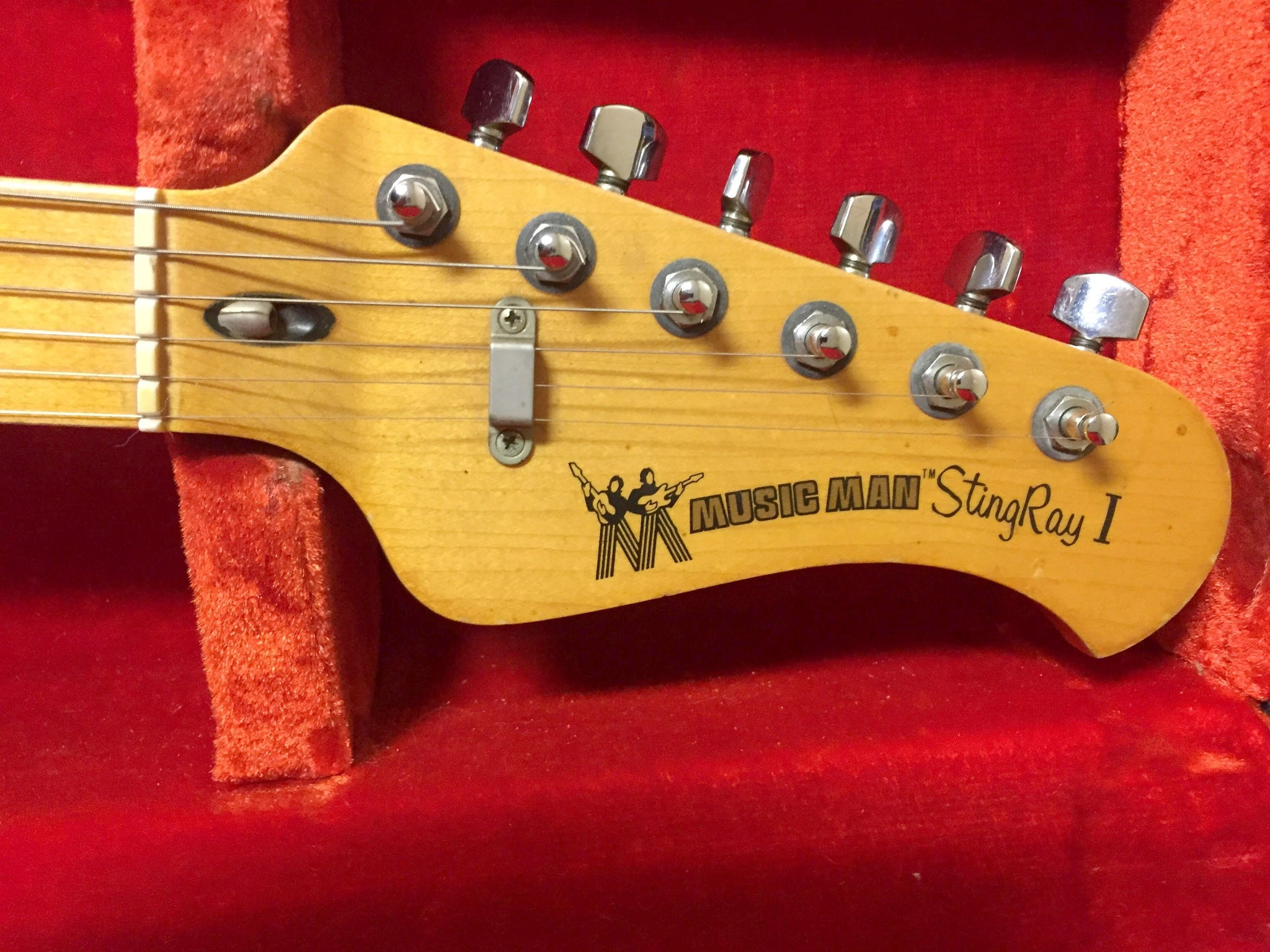 Musicman Stingray I Natural  ****SOLD****