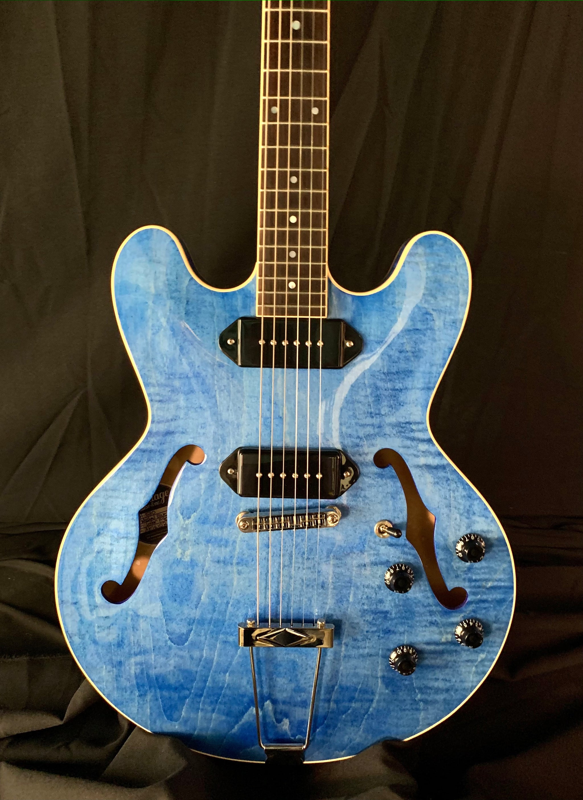 Heritage H530 Washed Blue Finish