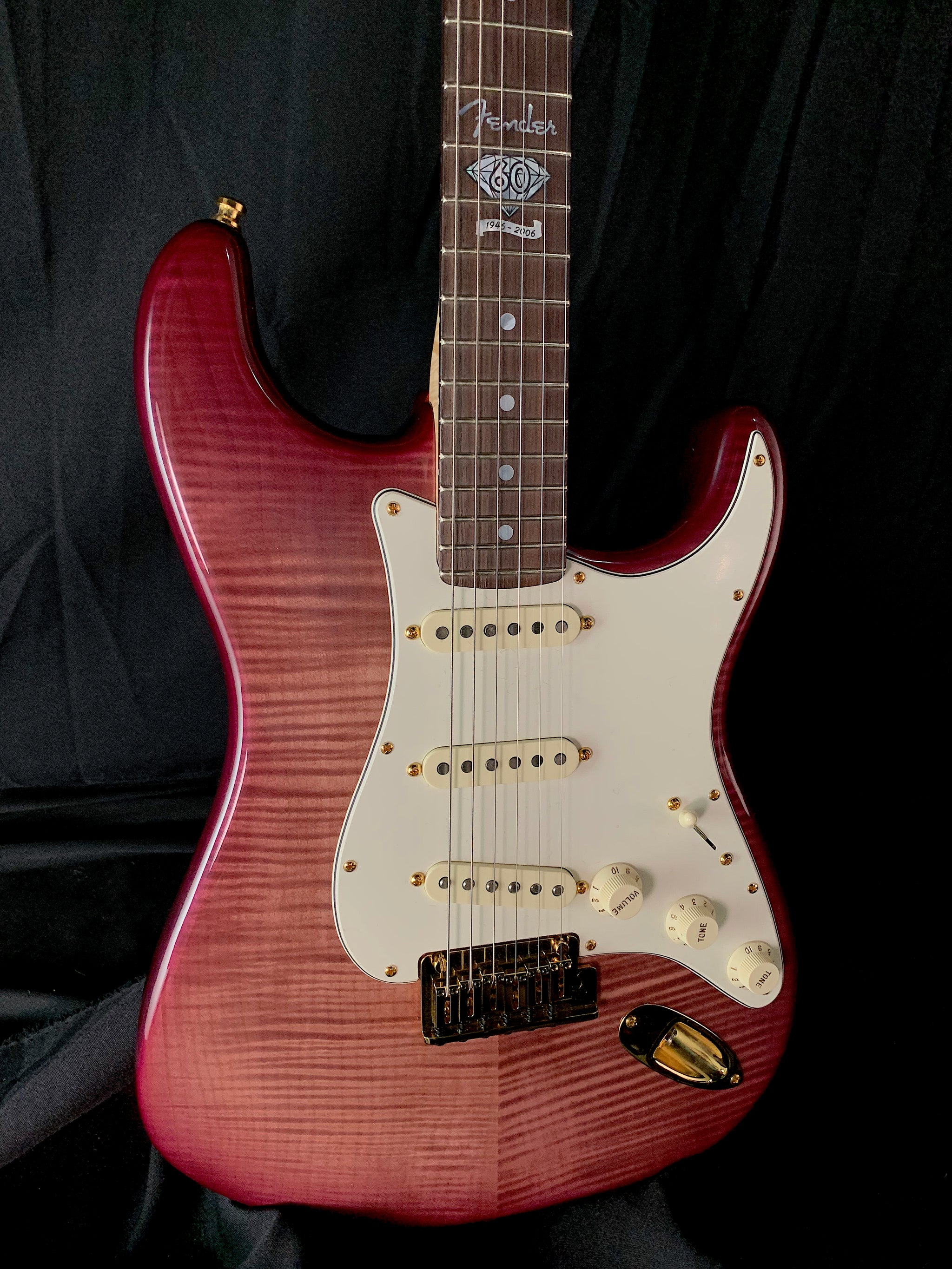 60th Anniversary Limited Edition Presidential Wine Stratocaster