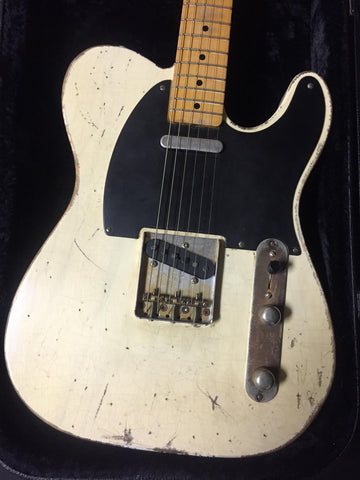 Jimmy Wallace Telecaster Relic'd White