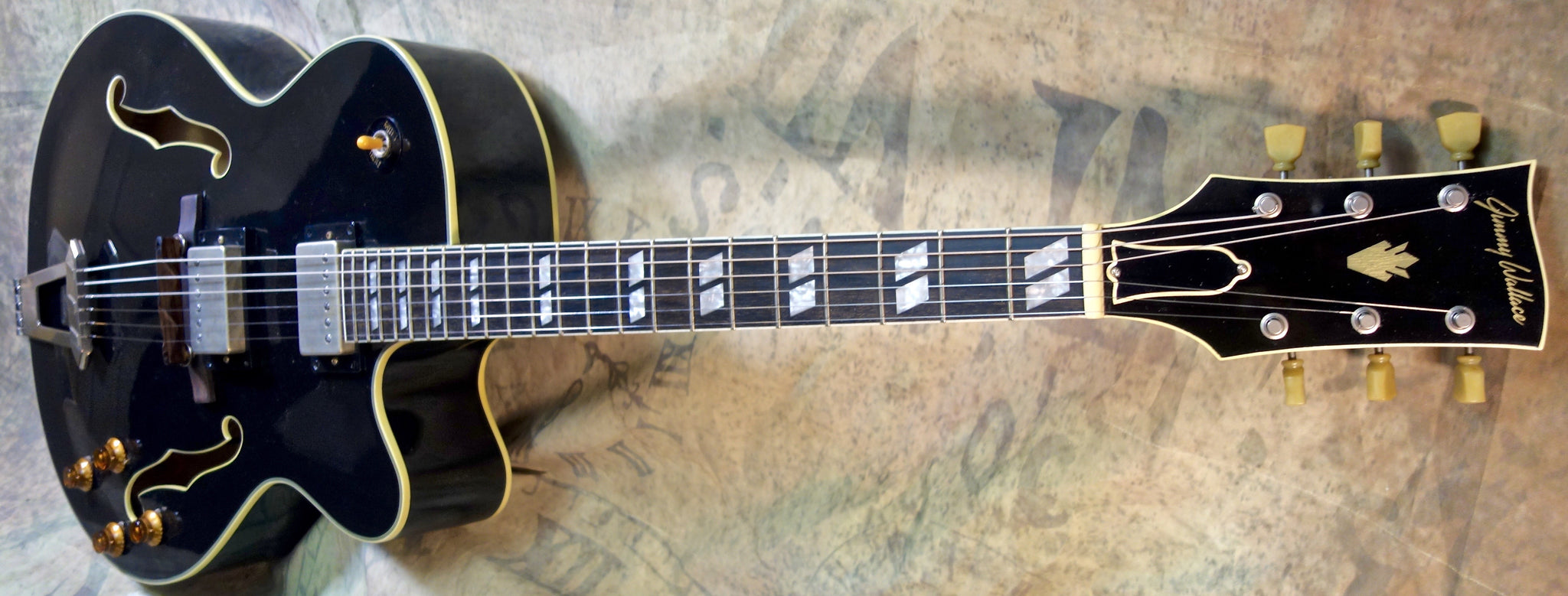 "***SOLD*** Jimmy Wallace JZ-175 ""Big Boy"" in Paladin Black"
