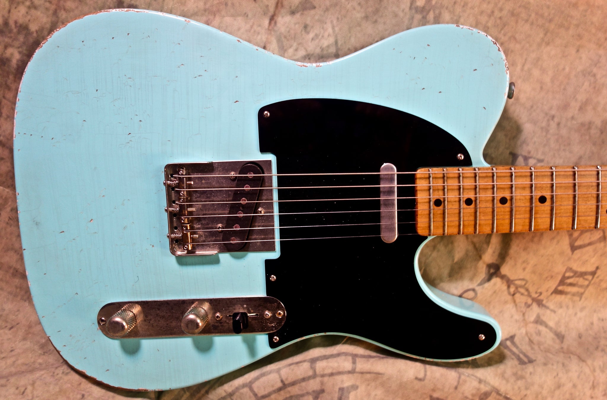 "Jimmy Wallace ""Slab""  in Sonic Blue"