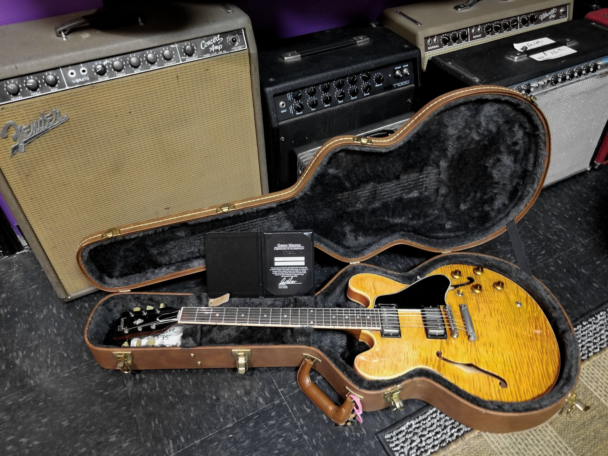 ****SOLD ****Gibson Custom Shop '63 Reissue ES 335