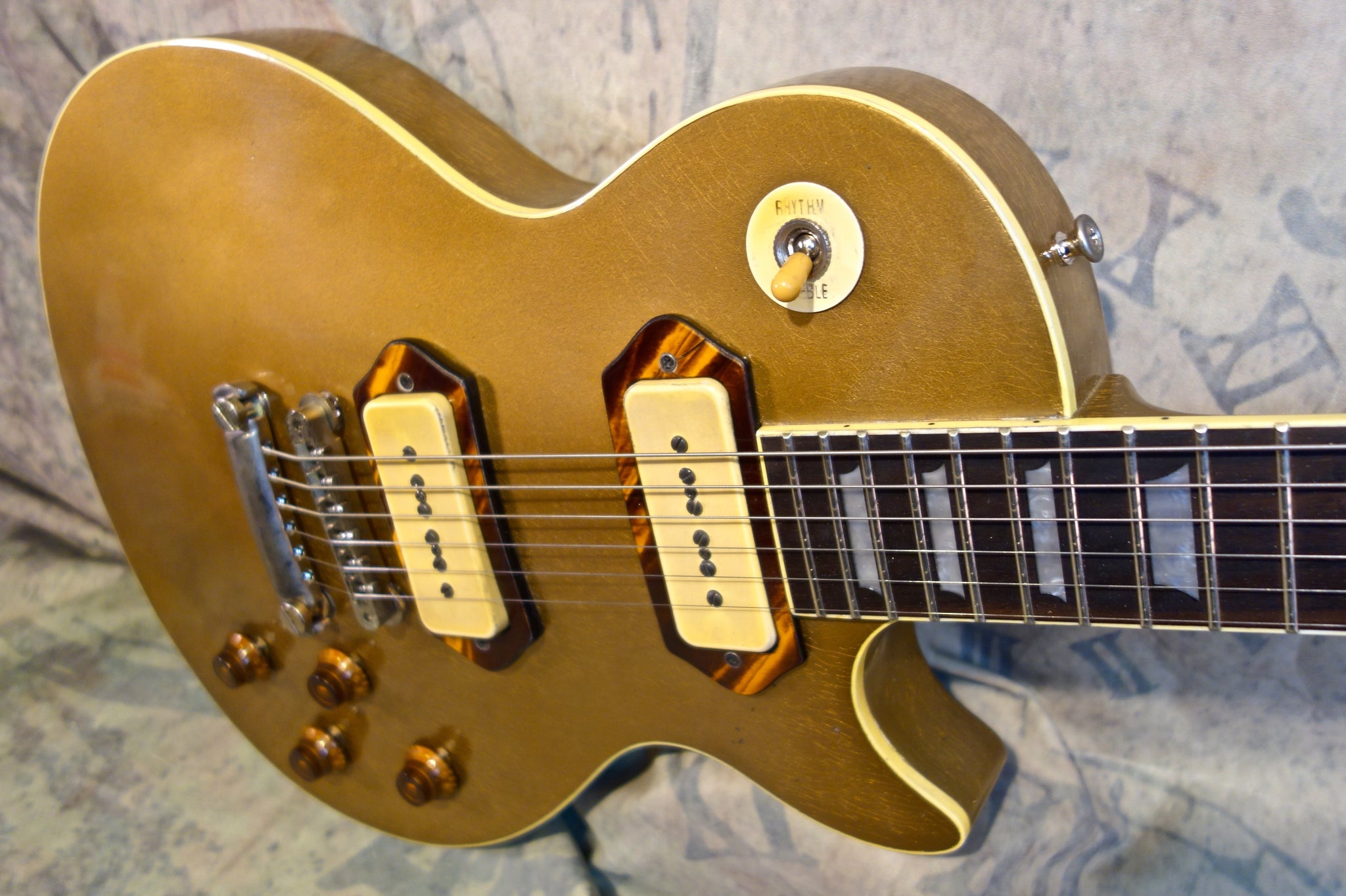 Jimmy Wallace LP Gold Top