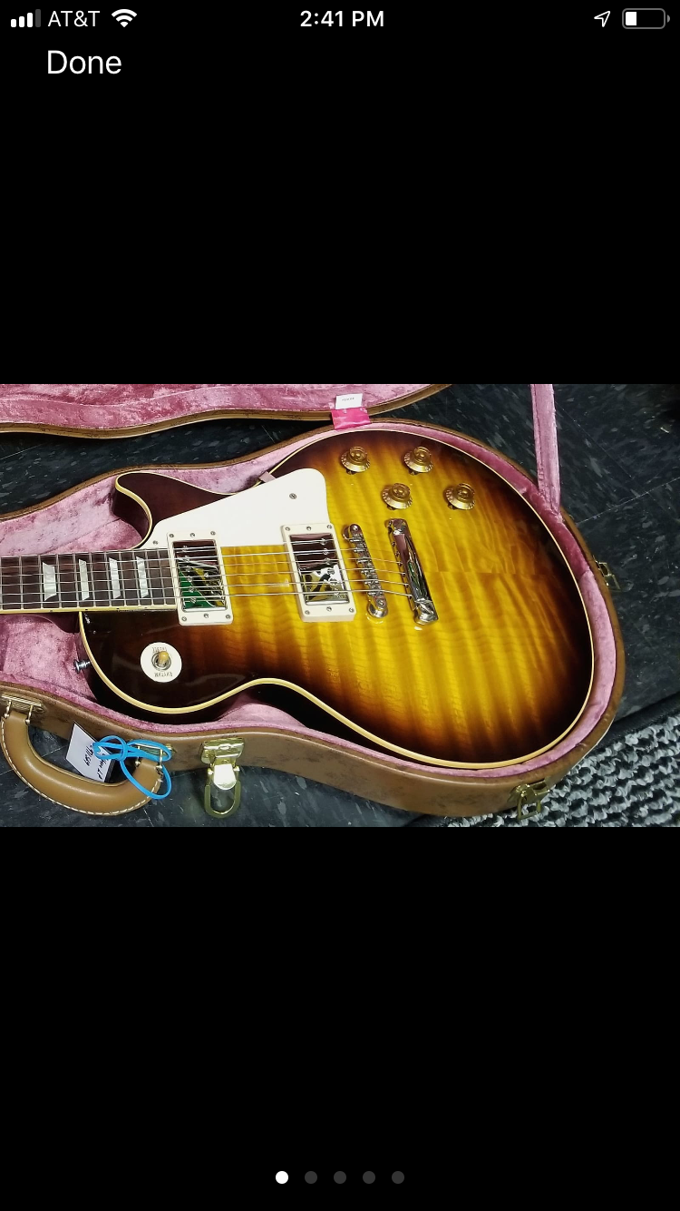 **** SOLD **** 2007 Gibson R9 Tobacco Sunburst