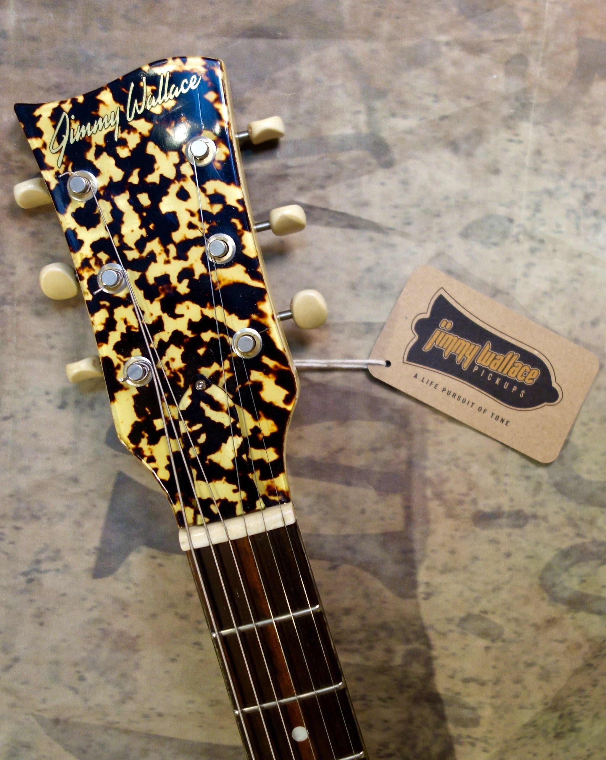 Jimmy Wallace DC Special Matching Headstock
