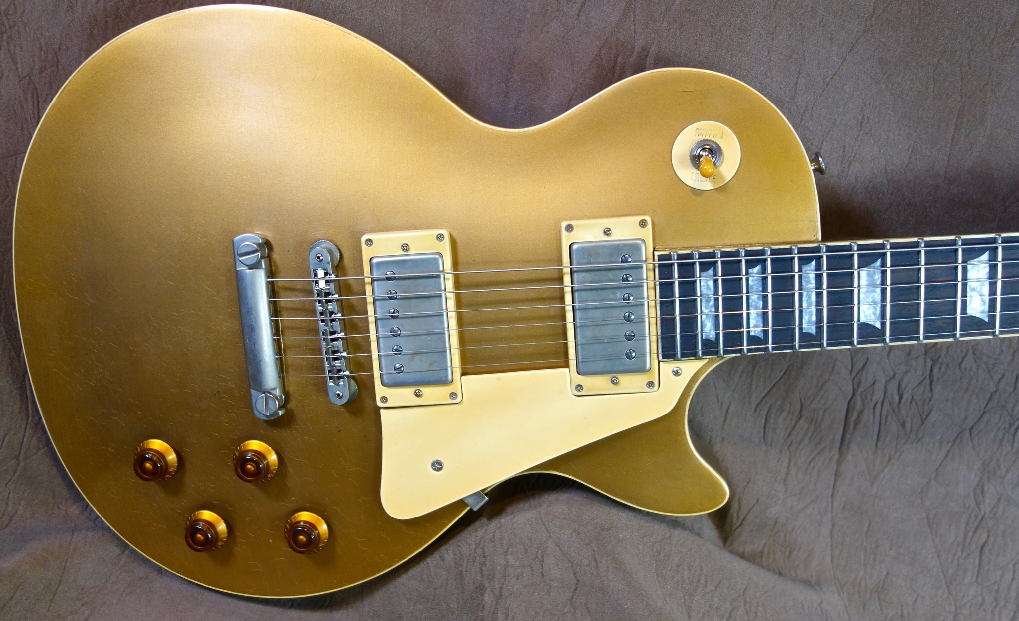Jimmy Wallace LP Aged Goldtop