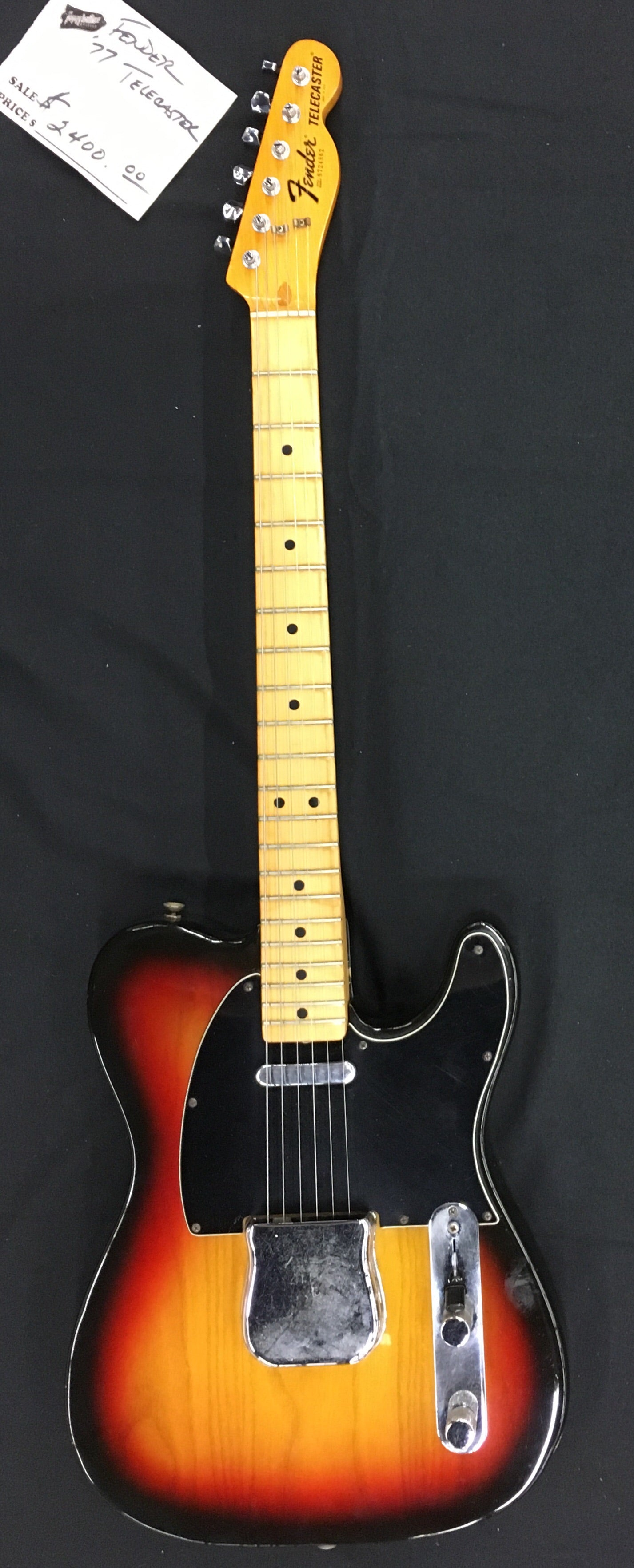 **** SOLD **** Fender '77 Telecaster