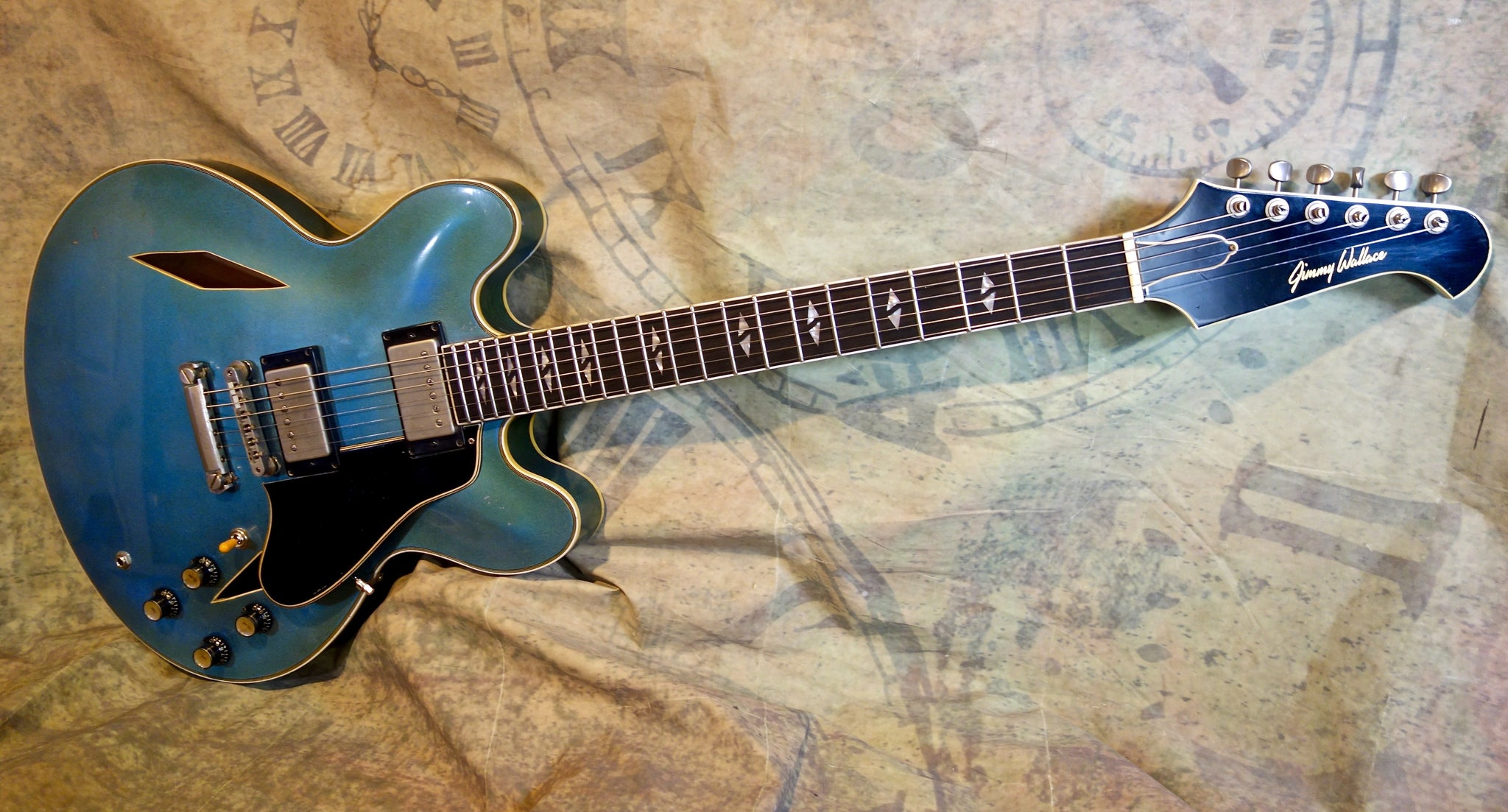 Jimmy Wallace MT  in Beautiful Authentic Aged Pelham Blue