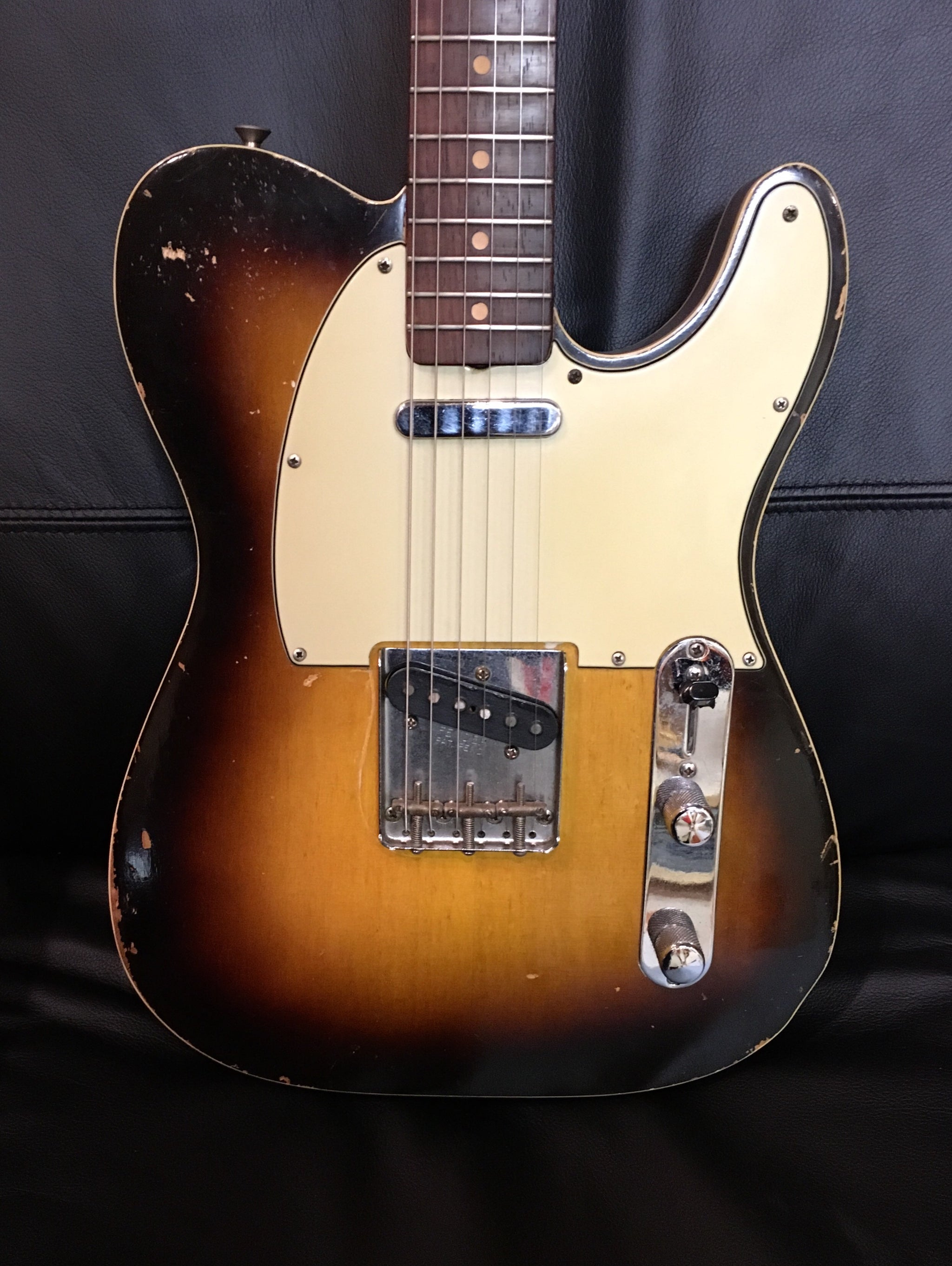 VERY RARE 1960 Double-bound Sunburst Telecaster Custom