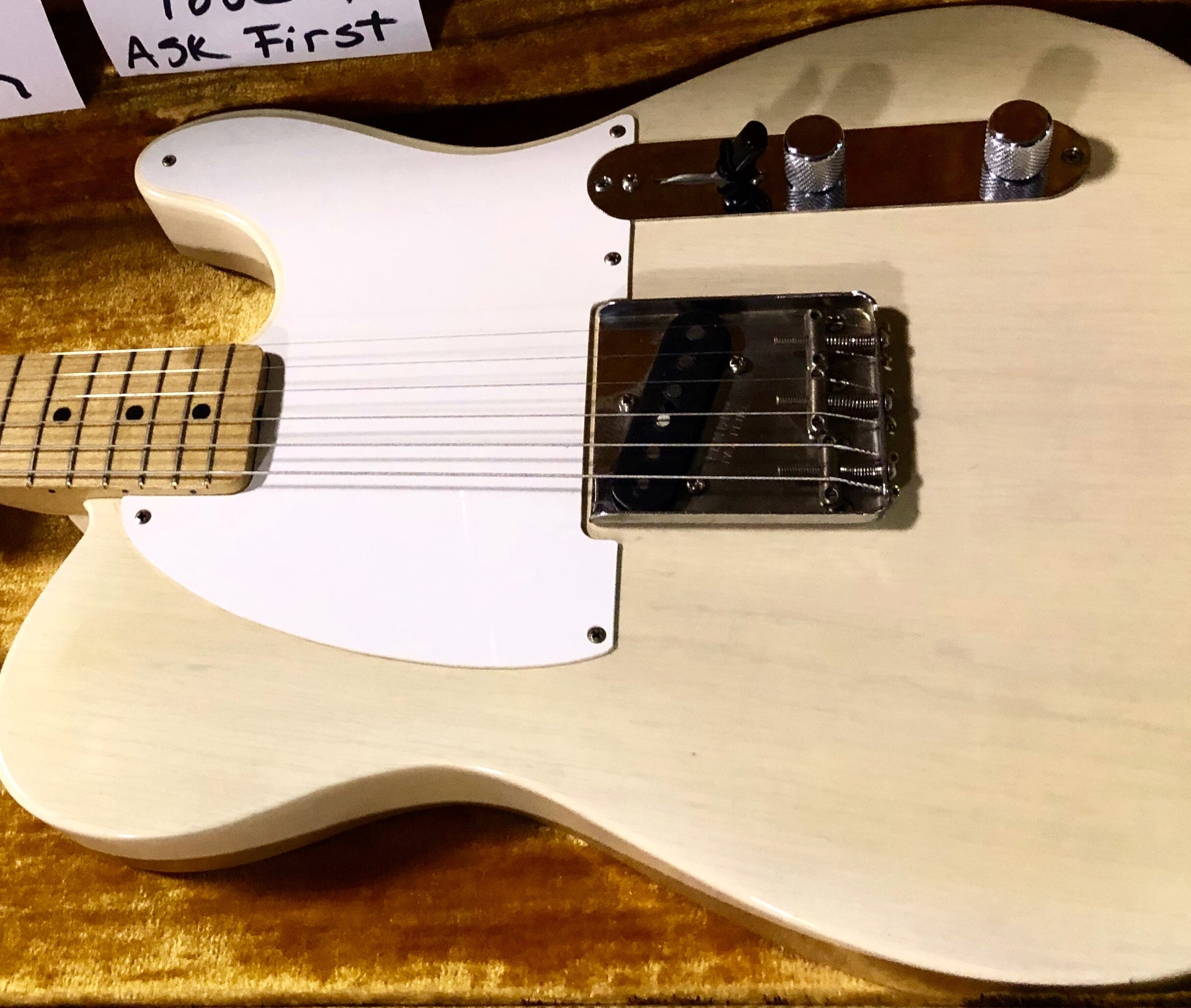 **** SOLD **** 1958 Fender Telecaster