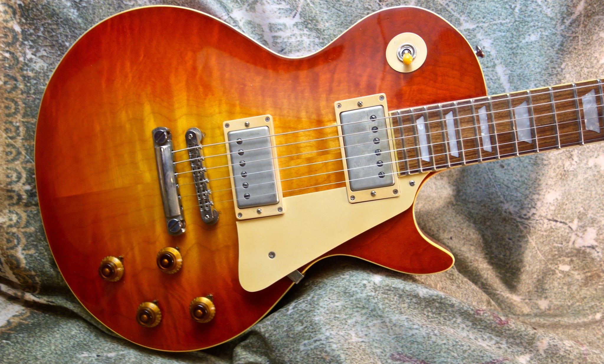 Jimmy Wallace Flametop Cherry Sunburst