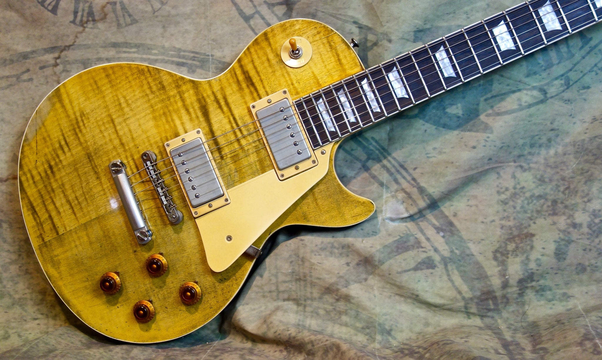 ****SOLD**** Wallace Flame Top - Gorgeous Lemon Aged Finish