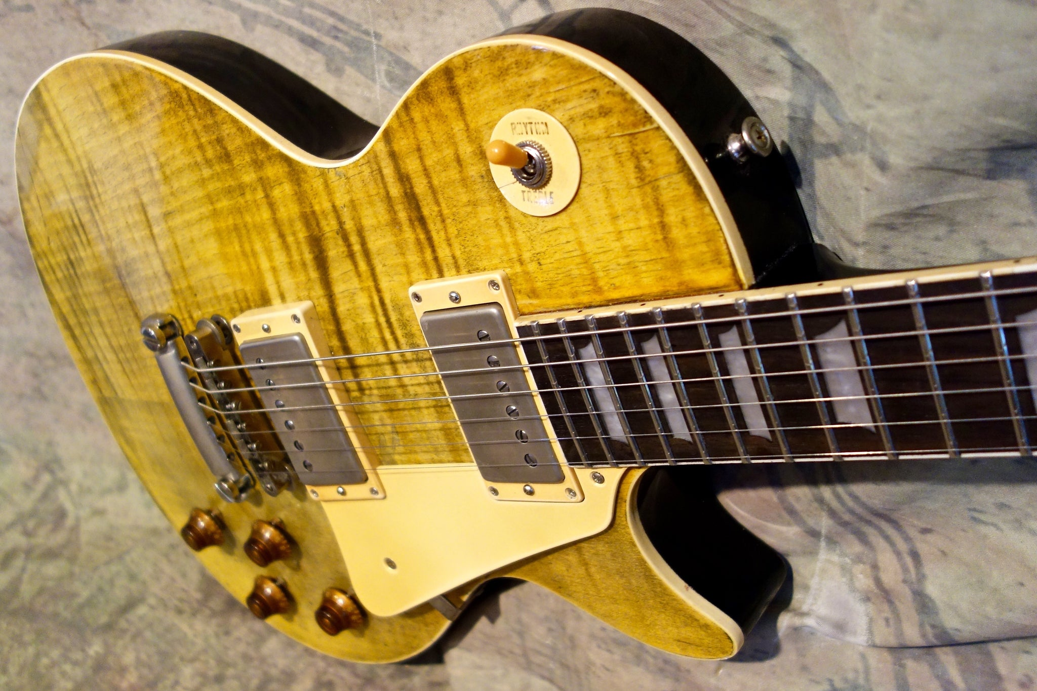 Jimmy Wallace LP - Gorgeous Lemon Aged Finish