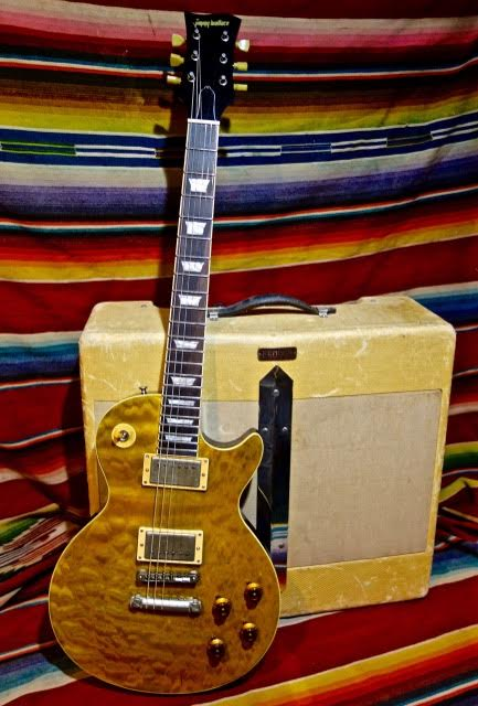 JImmy Wallace Gold Lava Quilt Top
