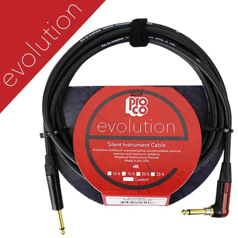 ProCo Evolution Instrument Cable - 10' (EVLGCSLN-10) Pro co