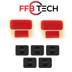 BlackVue / Pittasoft DashCam mounting kit DR900/DR750/DR650 (2 sets + 5 clips)