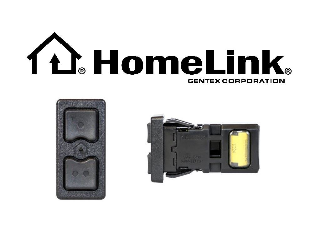 Homelink Universal Garage Door Opener by Gentex - Easy Install (GENHLBP1)