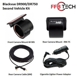 BlackVue DR900/DR750 2 Channel - Second Vehicle Mounting Kit