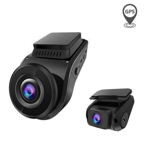 Vantrue S1 Dual 1080P FHD Dash Cam Front and Rear Dash Cam - GPS - Night Vision