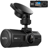 Vantrue N2 PRO-Dual Dash Cam-Infrared Night Vision 256GB Support/Upgraded Mount