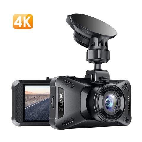 Vantrue X4 UHD 4K 3840X2160P 30fps Super Capacitor Dash Camera