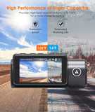 Vantrue T3 1520P 24/7 Dash cam | Supercapacitor | Night Vision | OBD Cable