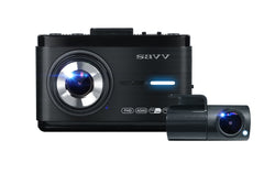 SAVV M35-F 2 Channel Dashcam (Parking mode, Wi-Fi, Touchscreen, ADAS) 32GB