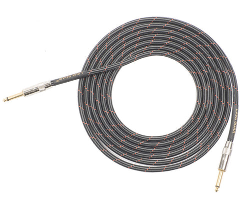 Lava Cable Soar Straight to Straight Braided Instrument Cable 20 ft (LCSR20)
