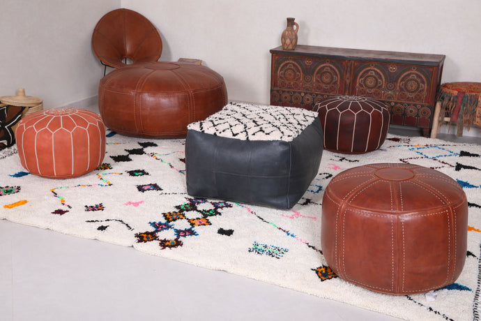 Decorate Your Home with Handmade Moroccan Pouf