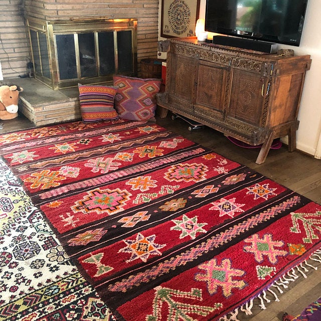 What makes a Moroccan Berber rug so unique?
