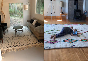 How to choose the perfect Moroccan rug for your living room ?