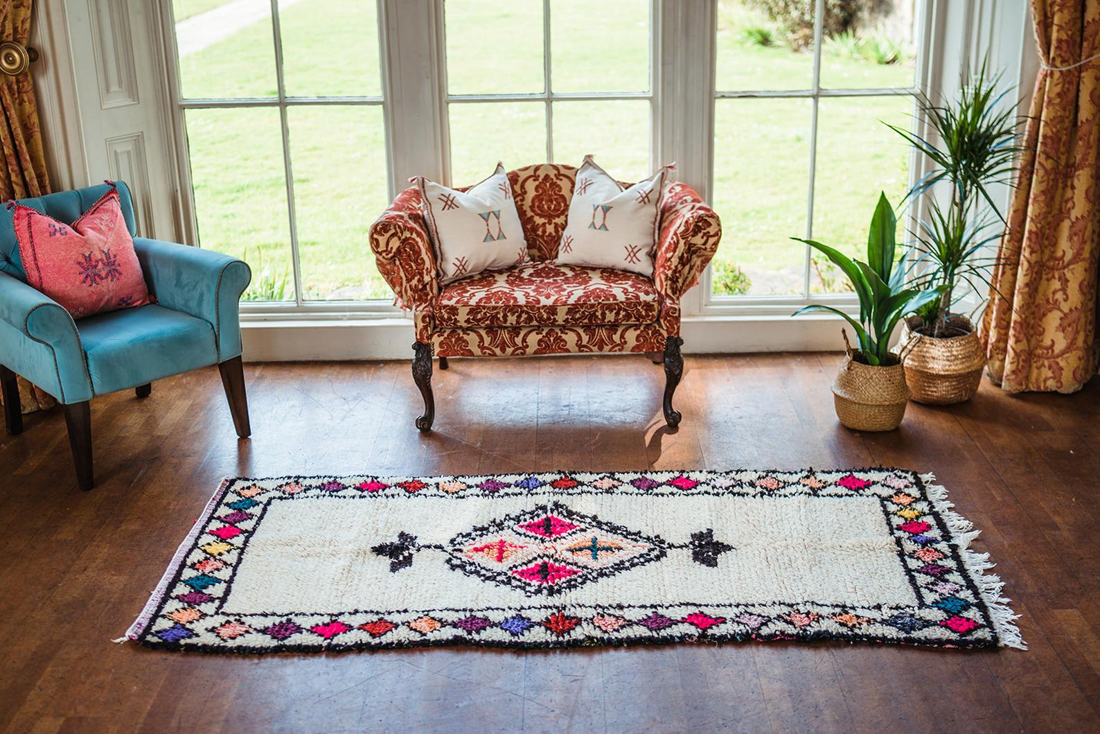 Beni ourain rugs from atlas
