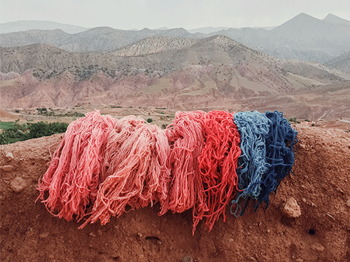 Moroccan wool
