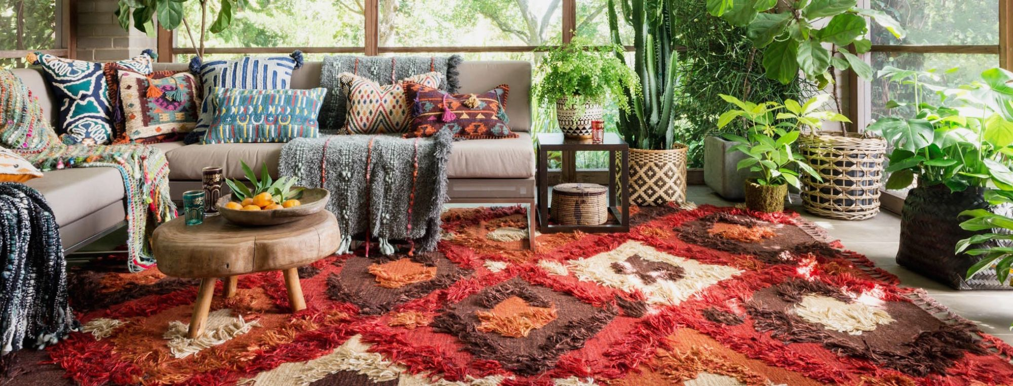 moroccan living room rug design