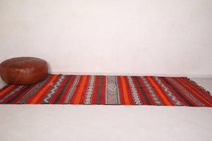 Large Handwoven kilim 6ft x 13.4ft
