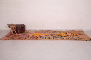 Moroccan rug 3.7 FT X 10.3 FT