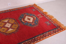 Authentic moroccan rug 4.8 ft x 7.7 ft