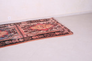 Authentic Vintage Moroccan rug 4.3 FT X 8.5 FT