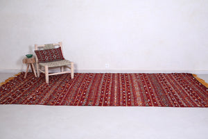 Large handwoven kilim 6.2 FT X 12.2 FT