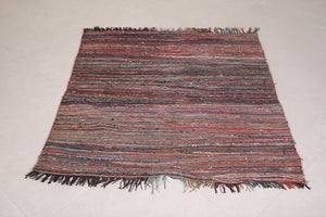 Moroccan rug 3.9 FT X 4.4 FT