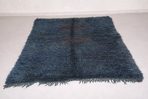 Wool Moroccan rug 5.4 FT X 8.1 FT