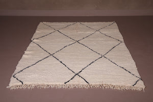 Beni ourain rug 4.9 FT X 7.1 FT