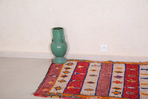 Colorful berber rug 3.3 FT X 5.8 FT