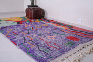Moroccan Rug 5.3 FT X 8.8 FT